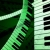 Keyboards Green Rotating HD Video Background 0096