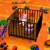 Bears, Crib, & Toys Multicolored Spinning HD Video Background 0459