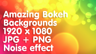 Amazing Bokeh Backgrounds 1920 x 1080 – Callouts Creative Assets