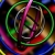Multicolored Circles Spinning HD Video Background 0630