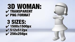 Women Darn 2 3D