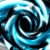 Metallic Half Circles Blue Spinning HD Video Background 0755