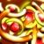 Arcs & Circles Orange Spinning HD Video Background 0756