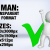 Man with Check Sign 2 3D