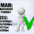 Man with Check Sign 4 3D
