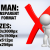 Man with Cross Sign 1 3D