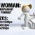 Woman Pulling 2 3D