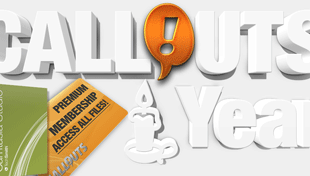 Callouts 1 Year Celebration Raffle