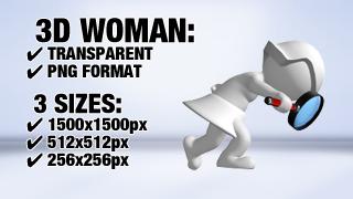 Woman Search 7 3D