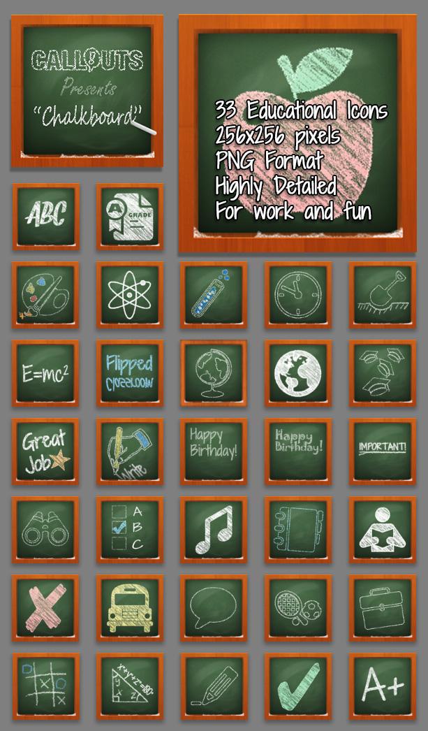 Chalkboard Presentation Resources