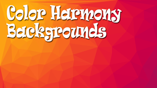 Color Harmony Backgrounds