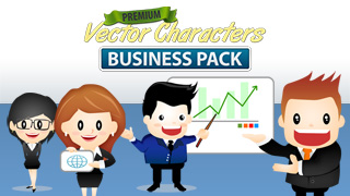 Vector Character Business Pack