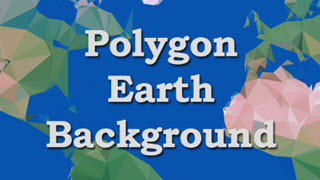 Polygon Earth Background
