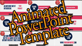 PowerPoint Animated Sales Video Template vol. 1