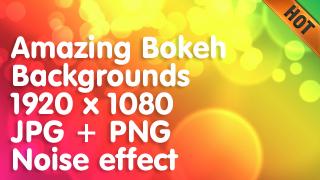 Amazing Bokeh Backgrounds 1920 x 1080