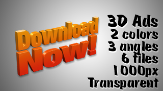 3D Advertising Graphic – Download Now