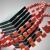 Red Blocks Circling Black Blocks HD Video Background 1150