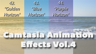 Camtasia Animation Effects Vol. 4