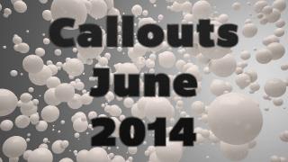 Callouts June 2014, Camtasia Vignettes, Photo Cut Out. . .