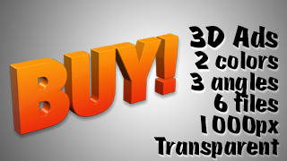 3D Advertising Graphic – Buy