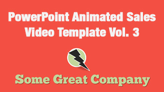 PowerPoint Animated Sales Video Template vol. 3