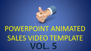 PowerPoint Animated Sales Video Template vol. 5