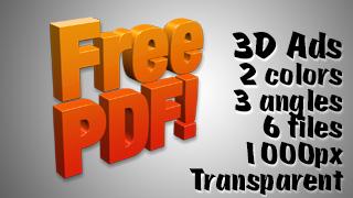 3D Advertising Graphic – Free PDF