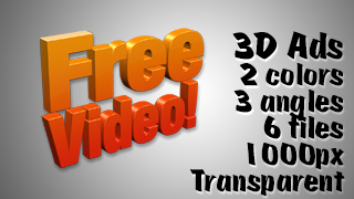 3D Advertising Graphic – Free Video