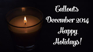 Callouts December 2014, Holiday Presentation Resources