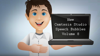 Camtasia Speech Bubbles vol. 8