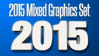 Mixed 2015 Graphics Set