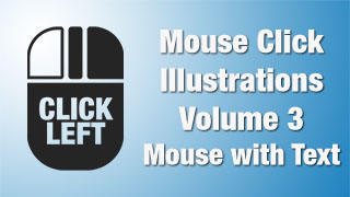 Mouse Click Illustrations 03