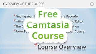 Free Camtasia Course on Udemy