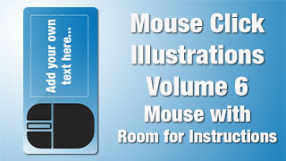 Mouse Click Illustrations 06