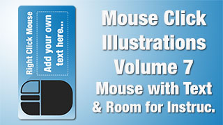 Mouse Click Illustrations 07