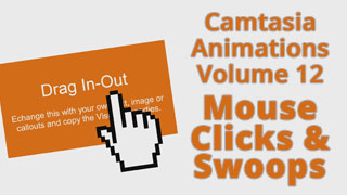 Camtasia Mouse Clicks and Swoops vol. 12