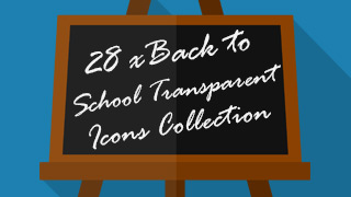 School Icons Stamps Transparent