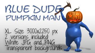BlueDudePumpkinfeatured