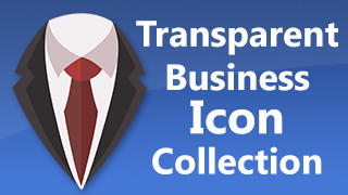 Business Icons Stamps Transparent
