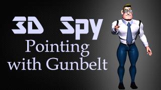 3D Spy Pointing with Gunbelt