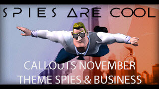 "November 2015 ""Spies are Cool"" Business and Spy Presentation Resources"