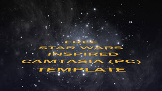 Free Star Wars Inspired Camtasia Template