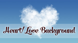 Love is in the Clouds Background