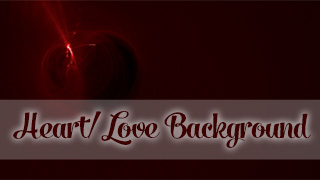 Love Lights Cherry Background