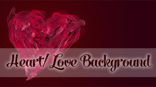 Painted Heart Background