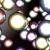 Colorful Metallic Balls Spinning Video Background 1436