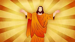 Jesus Illustrated Background 01