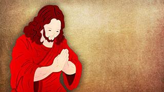 Jesus Illustrated Background 02