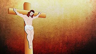 Jesus Illustrated Background 03