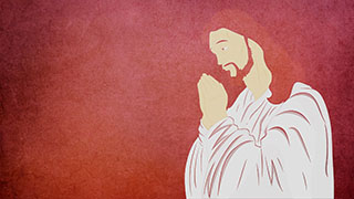 Jesus Illustrated Background 04